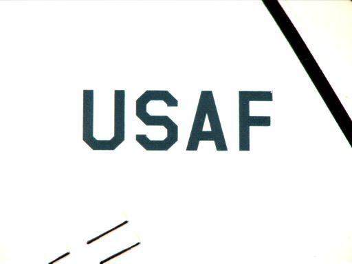 closeup USAF