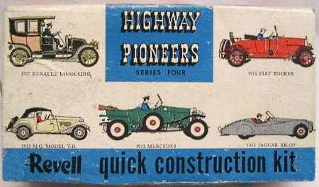 Revell High Pioneers Mercedes Kit