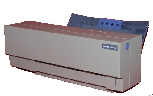 Alps Wax Film Printer
