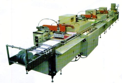 Commercial Silk Screen Printing Press